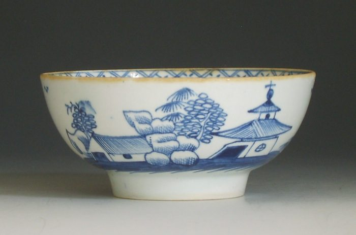 Rare Isleworth porcelain bowl