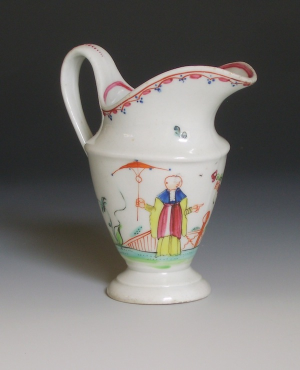 New Hall porcelain cream jug