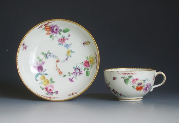 Worcester tea cup and saucer