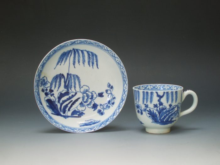 Bow cup and saucer