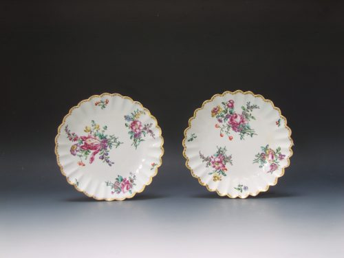Pair of Bow plates