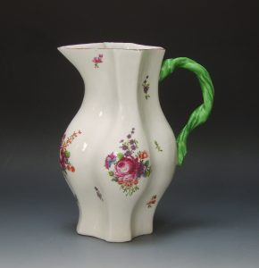 Longton Hall quatrefoil jug