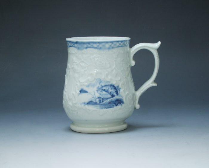 A fine Liverpool, Philip Christian bell shaped mug