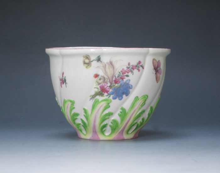 Rare Chelsea rice bowl sucrier base