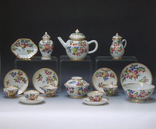 An extremely fine Chinese part tea service