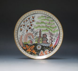 New Hall saucer dish