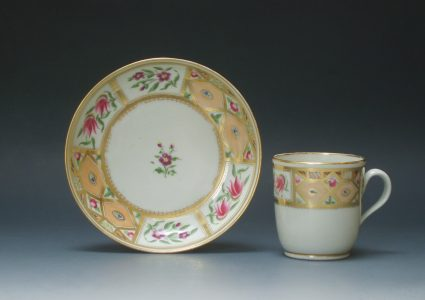 New Hall cup and saucer