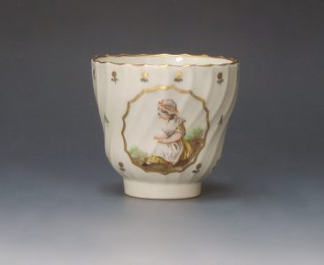 Caughley coffee cup by Duvivier