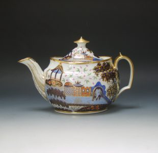 New Hall teapot