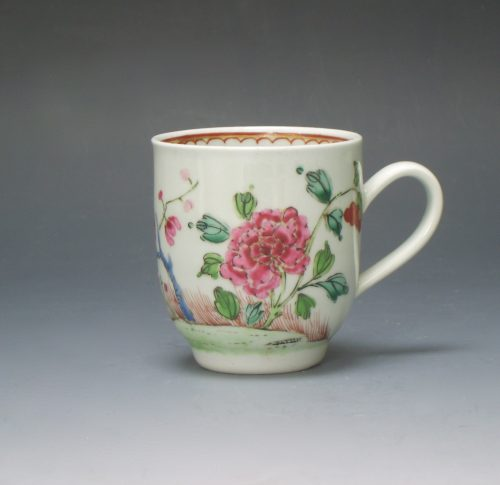 Liverpool Chaffers porcelain coffee cup
