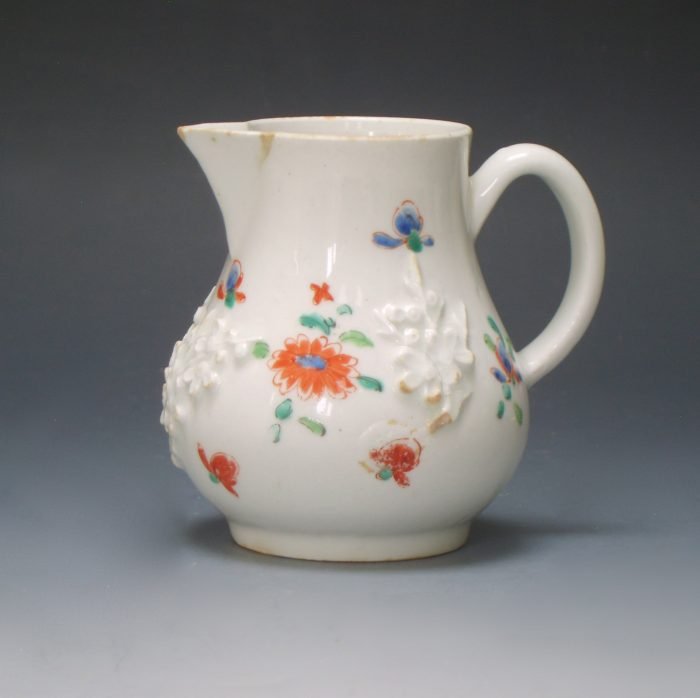 Bow porcelain sparrow beak jug