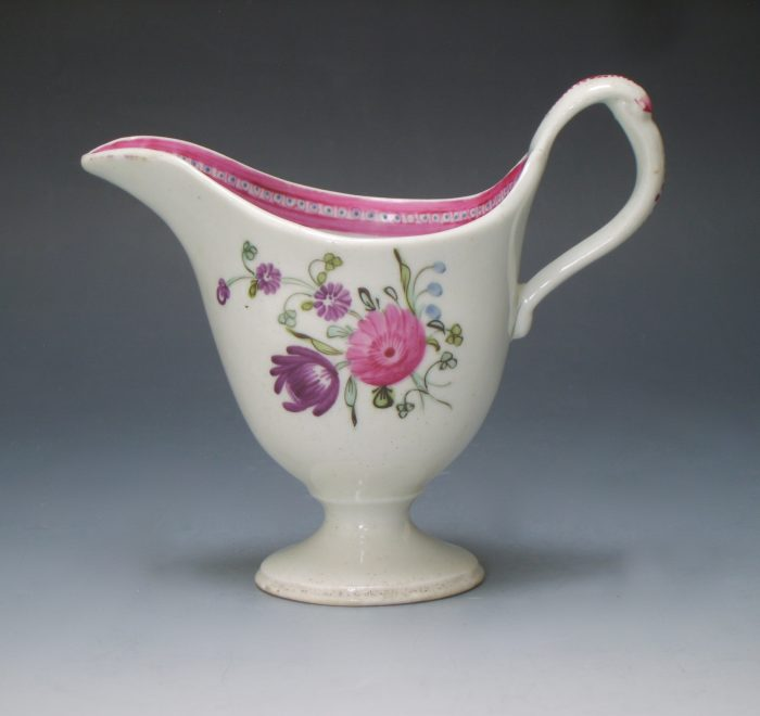 New Hall porcelain jug